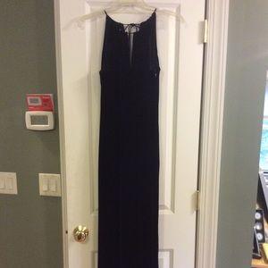 Black Velvet Dress in size 6